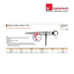 Nhíp đo trong lò xo 150mm Niigata Seiki SI-150