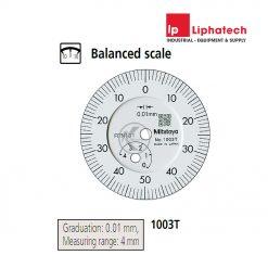 Mitutoyo 1003T Đồng hồ so 4mm x 0.01mm