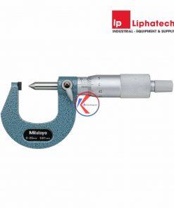 Panme cơ đo chiều cao mép gấp 0-25mm Mitutoyo 112-401