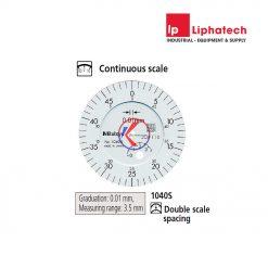 Đồng hồ so cơ khí 0-3.5mm x 0.01 Mitutoyo 1040S