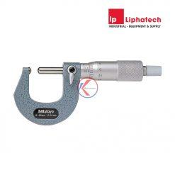 Panme cơ đo chiều dày ống 0-25mm 115-215 Mitutoyo
