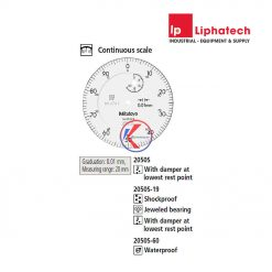 Đồng hồ so cơ khí 0-20mm x 0.01 Mitutoyo 2050S-19