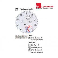Đồng hồ so cơ khí 0-30mm x 0.01 Mitutoyo 2052S-19