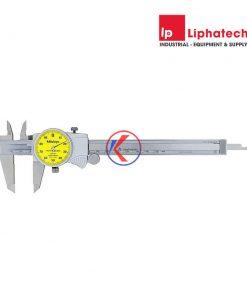 Thước kẹp đồng hồ 0-200mm Mitutoyo 505-733