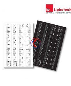 Sticker dán vạch thước Niigata Seiki MSL-10KD