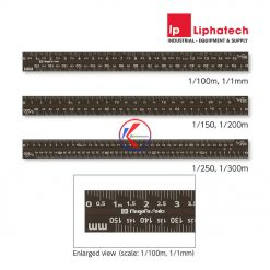 Thước tỉ lệ tam giác Niigata Seiki TSGA-15KD