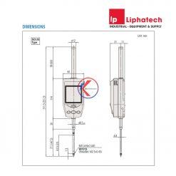 Mitutoyo 543-562E Đồng hồ so điện tử 30.4mm/1.2inch