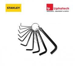 Stanley 69-213 Bộ lục giác 10 chi tiết ngắn hệ mét (1.5-10mm)